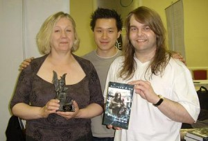 Allyson Bird with Vincent Chong and Steve Upham